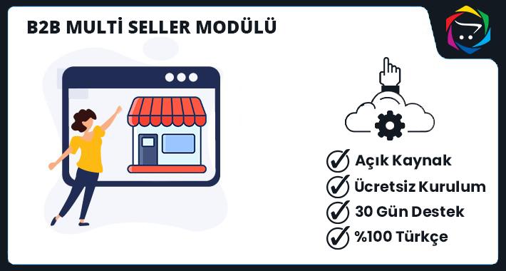 Opencart c2c Multi Seller Modülü