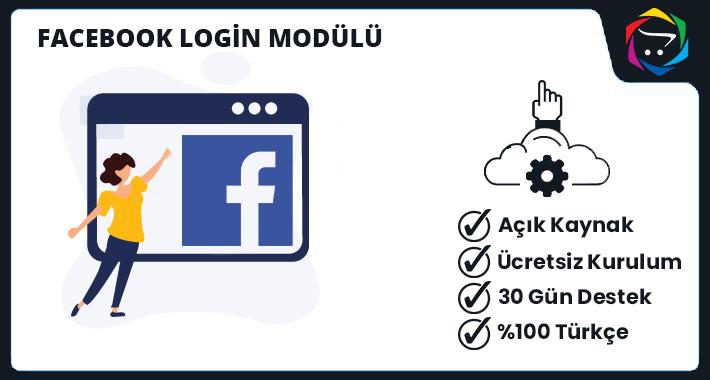 Opencart  Facebook Login Modülü