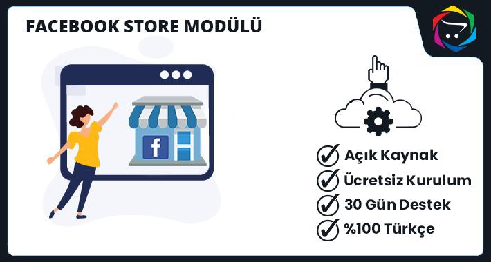 Opencart  Facebook Store Modülü