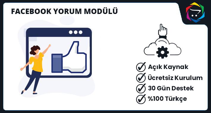 Opencart  Facebook Yorum Modülü
