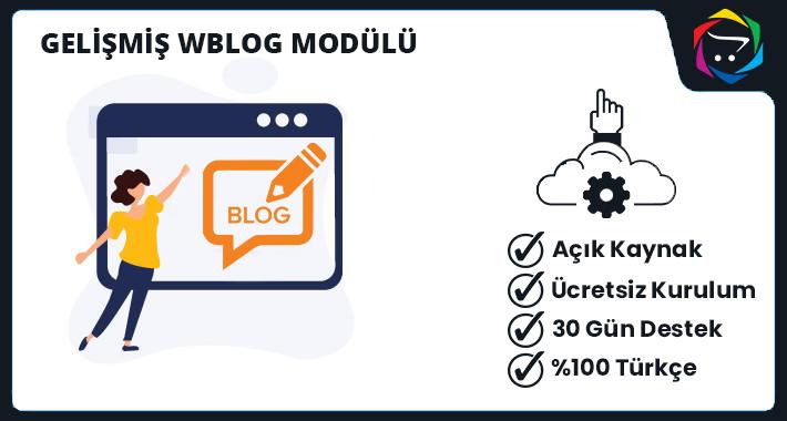 Opencart Gelişmiş WBlog Modülü