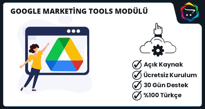 Opencart Google Marketing Tools Modülü
