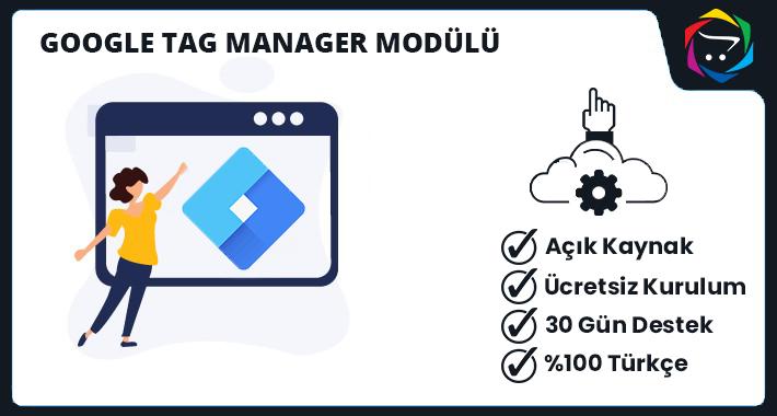 Opencart Google Tag Manager Modülü