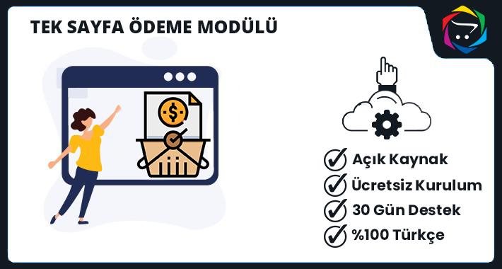 Opencart İyzico & Paytr Tek Sayfa Ödeme Modülü