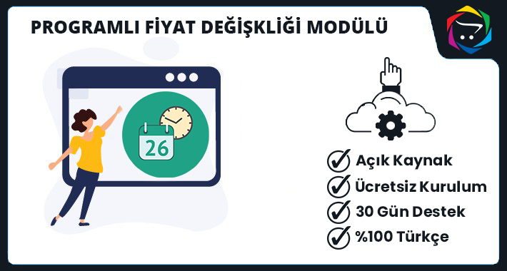 Opencart Programlı Fiyat Değişikliği Modülü
