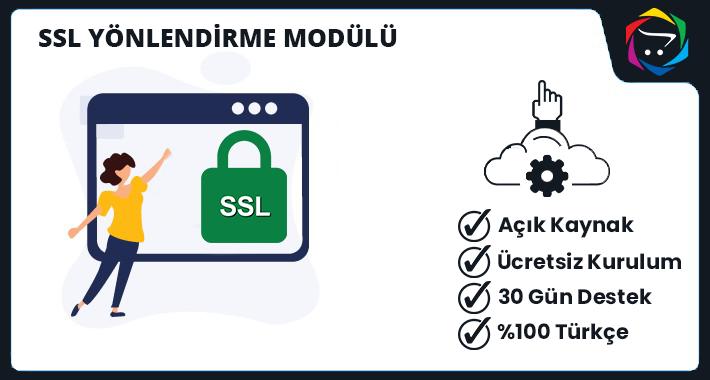 Opencart  SSL Yönlendirme Modülü