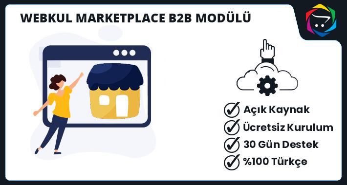 Opencart WebKul Market Place B2B Modülü