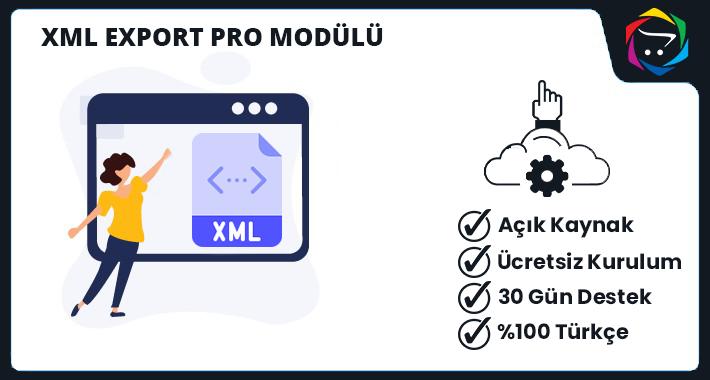 Opencart Xml Export Modülü