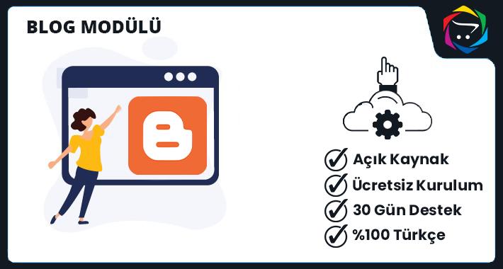 Opencart  Blog Modülü