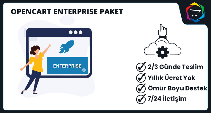 Opencart ENTERPRISE Paket