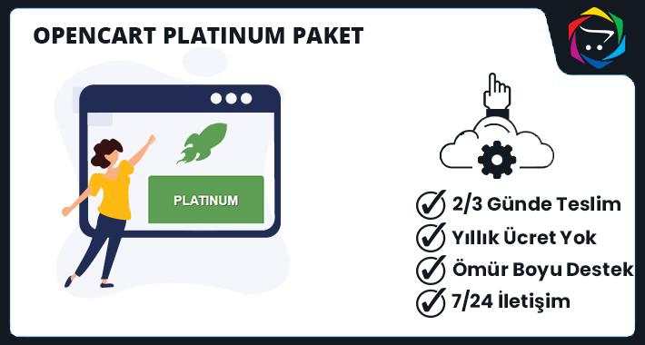 Opencart PLATINUM Paket